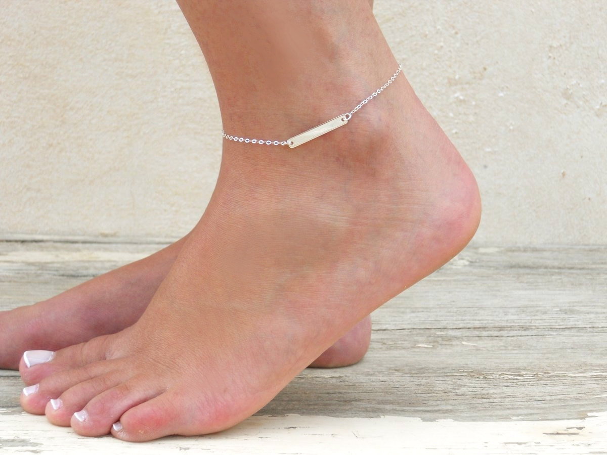 tresor ankle women bracelet silver anklet coulisse sterling allure paris